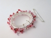 Hanging Brooch - Pink