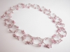 Pink Circles Neckpiece