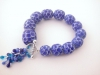 Blue Scale Bracelet