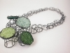 Green Patches Neckpiece