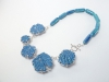Blue Patches Neckpiece