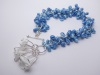 blue twist bracelet