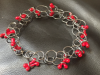 Bracelet - Silver and Glass
