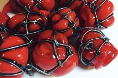 Blown wire neckpiece